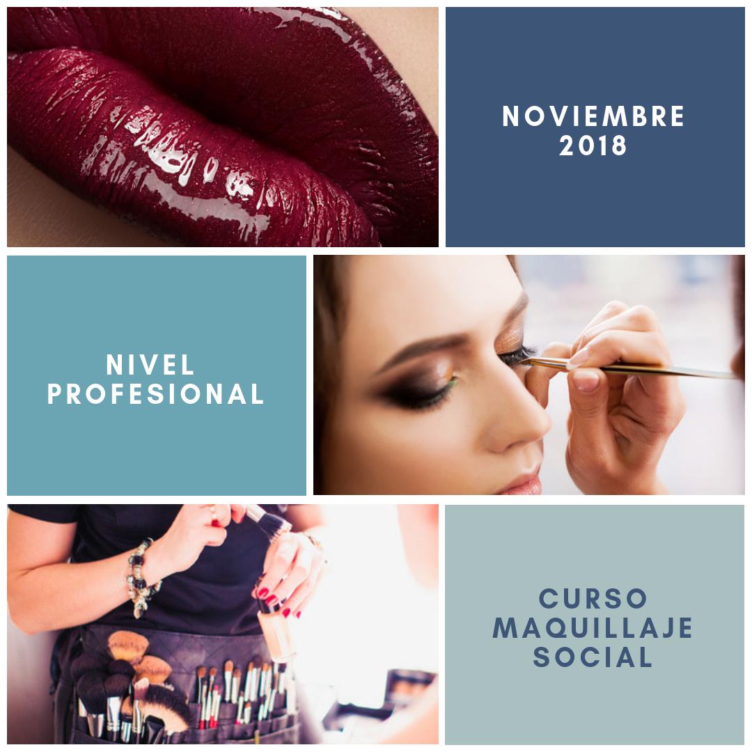 Curso maquillaje social nivel 1